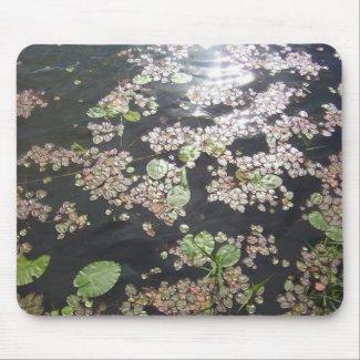 'Lilypads' Mousepad mousepad