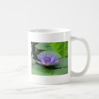Lilypads - Purple Coffee Mug
