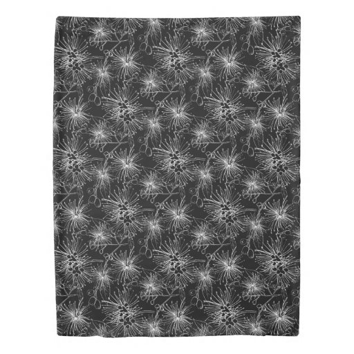Lilypilly Black And White Sketch Drawing Art Duvet Duvet