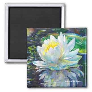 Lilypond Reflections Magnet