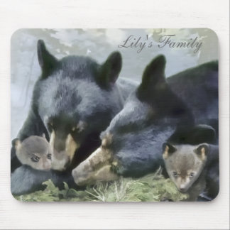 Lily's Family Mousepad