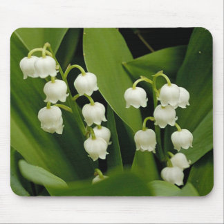 LILYS OF THE VALLEY -mousepad-