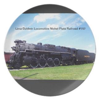 Lima-Baldwin Locomotive Nickel Plate Railroad #757