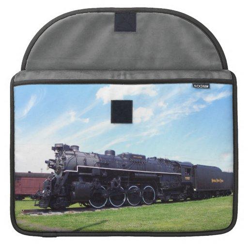 Lima-Baldwin Locomotive Nickel Plate Railroad #757 Sleeve For MacBooks