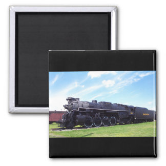 Lima-Baldwin Locomotive Nickel Plate Railroad #757 Magnet