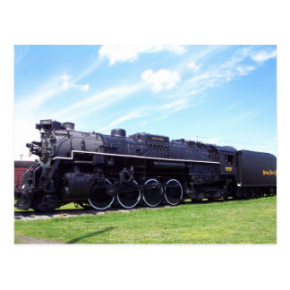Lima-Baldwin Locomotive Nickel Plate Railroad #757 Postcard