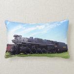 Lima-Baldwin Locomotive Nickel Plate Railroad #757 Throw Pillow