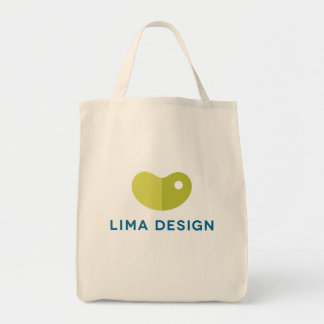 "LIMA DESIGN grocery tote... The ""Bean Bag"" Tote Bag"