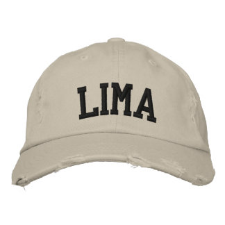 Lima Embroidered Hat Embroidered Hats