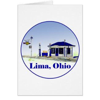 Lima, Ohio Card