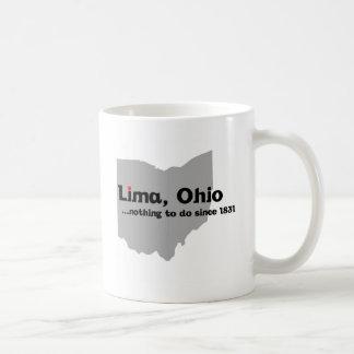 Lima, Ohio Coffee Mug