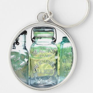 Lima Ohio Fruit Jar Antiques Vintage Mason Jars Keychain