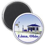 Lima, Ohio Iman Para Frigorífico