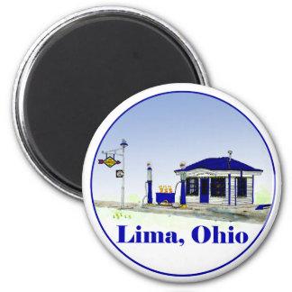 Lima, Ohio Magnets