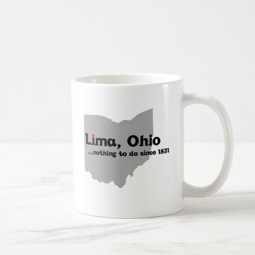 Lima, Ohio Tazas De Café