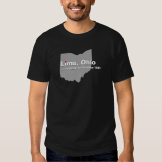 Lima, Ohio Tee Shirt