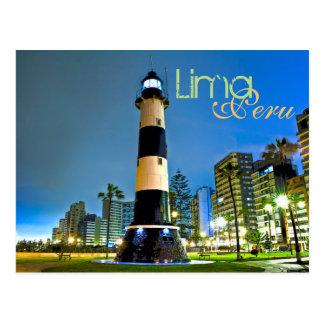 Lima, Peru, Miraflores District, S.A. Postcard