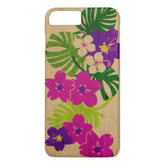 Limahuli Garden Hawaiian Faux Wood iPhone 7 Plus Case