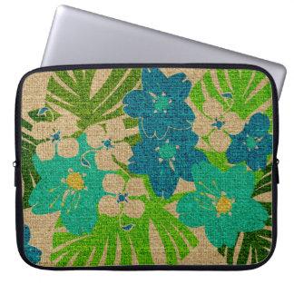 Limahuli Garden Hawaiian Neoprene Wetsuit Laptop Computer Sleeve