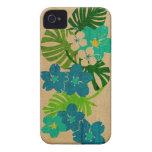 Limahuli Garden Hawaiian Surfboard iPhone 4 Case