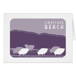 Limantour Beach Sandpipers Card