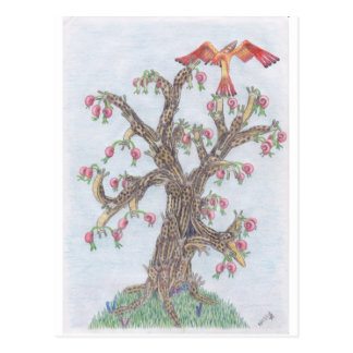 Limax Tree Postcard