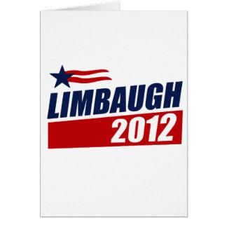 LIMBAUGH 2012 GREETING CARD