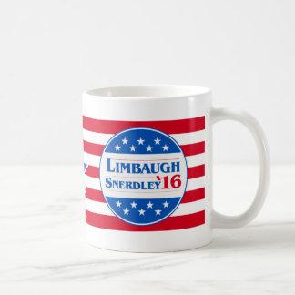 Limbaugh Snerdley 2016 Classic White Coffee Mug