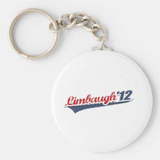 Limbaugh Team Basic Round Button Keychain