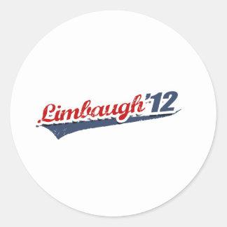 Limbaugh Team Classic Round Sticker