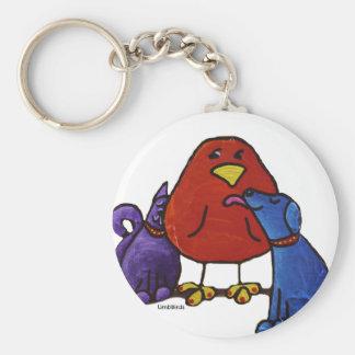 LimbBird products Basic Round Button Keychain