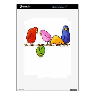 LimbBirds Decals for iPad 2