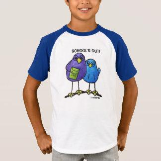 LimbBirds Kid's Striped V-Neck Tshirt