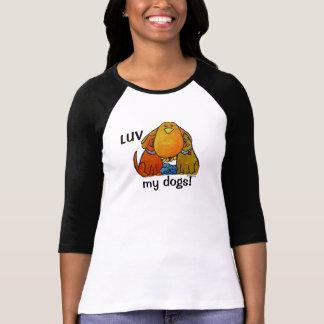 LimbBirds Raglan 3/4 Sleeve Tshirt