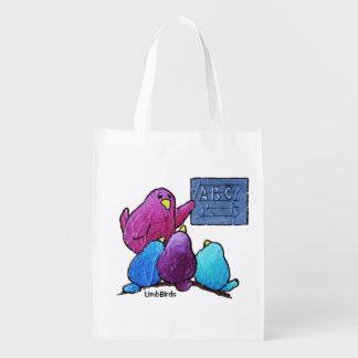 LimbBirds Reusable Grocery Bag
