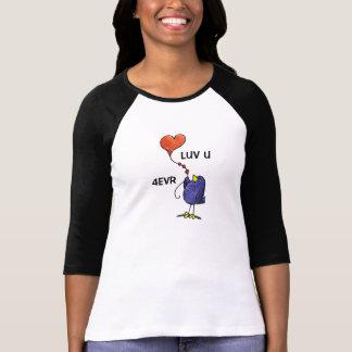 LimbBirds Womens Raglan Sleeve Tshir T-Shirt