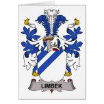 Limbek Family Crest Greeting Card