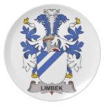 Limbek Family Crest Plates