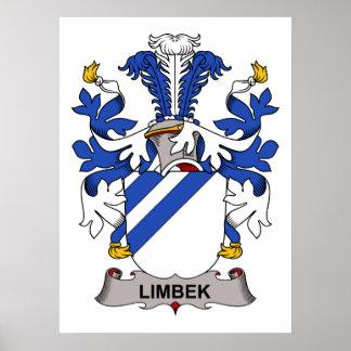 Limbek Family Crest Print
