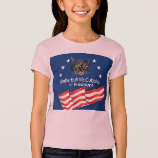 Limberbutt McCubbins for Prez T-Shirt