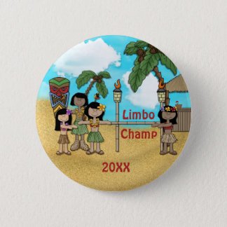 Limbo Luau Birthday Party - Limbo Champ Button
