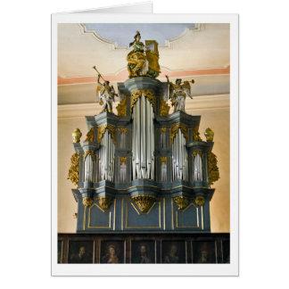 Limburg, Germany organ card (vertical)