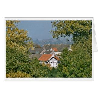Limburg view during a walk card