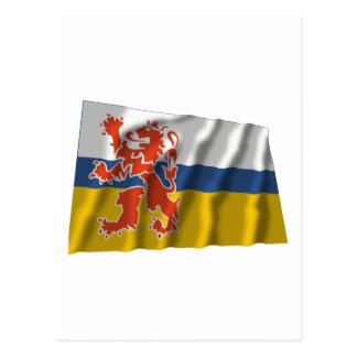 Limburg Waving Flag Postcard