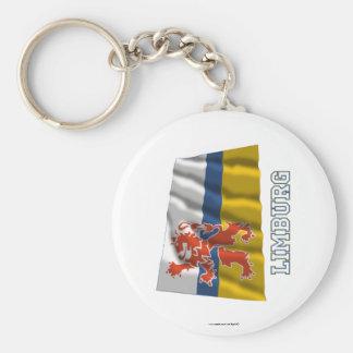 Limburg Waving Flag with Name Key Chains