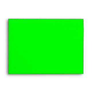 Lime 00FF00 Envelope