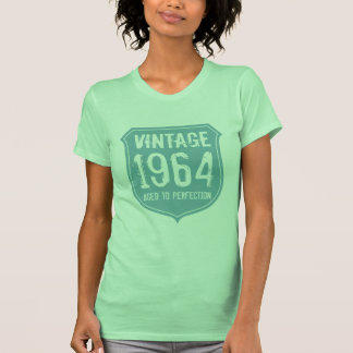 Lime 1964 aged to perfection tshirt for women