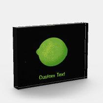 Lime Acrylic Award