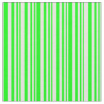 [ Thumbnail: Lime and Beige Colored Lines Fabric ]