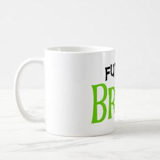 Lime and Black Future Bride Classic White Coffee Mug